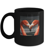 Love is real - Coffee Mug Design black - Uncle Seal