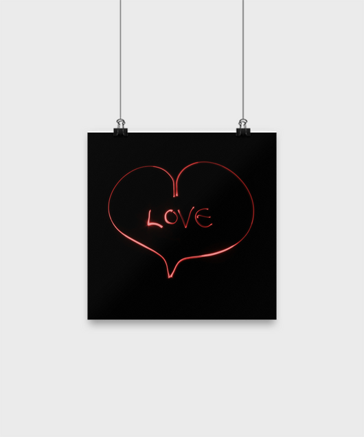 Pure love - Wall poster - Uncle Seal