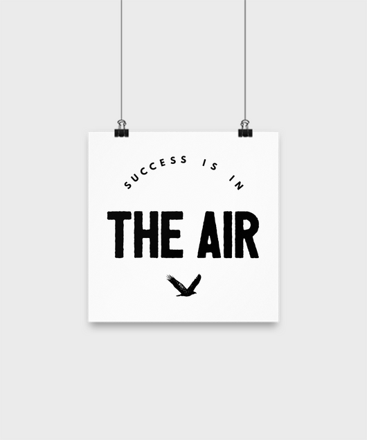 Success is in the air Poster - Uncle Seal