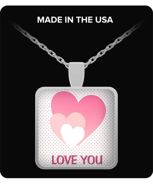 Love you more and more - Necklace - Uncle Seal