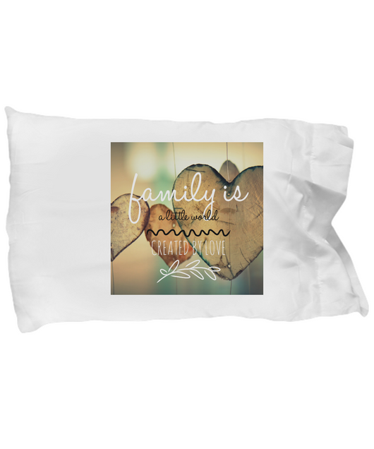 Family love design - Pillow Case - Uncle Seal