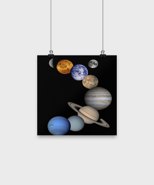 Solar System Design - Poster - Uncle Seal