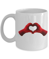 Love Gloves Design - Coffee Mug red - Uncle Seal