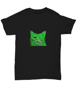 Blink Cat - Tshirt - Uncle Seal