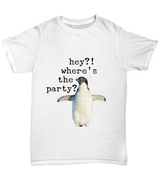 Funny Penguin - T shirt - Uncle Seal
