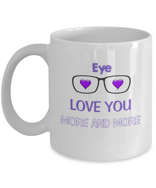 Eye Love you more and more Coffee Mug - Uncle Seal