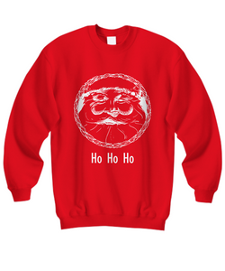 Christmas Santa Sweatshirt - Uncle Seal
