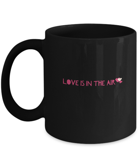 Love is in the Air - Coffee Mug - Uncle Seal