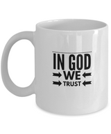 In god we trust - White design Coffee Mug - Uncle Seal