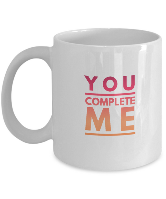 You complete me Mug - Uncle Seal