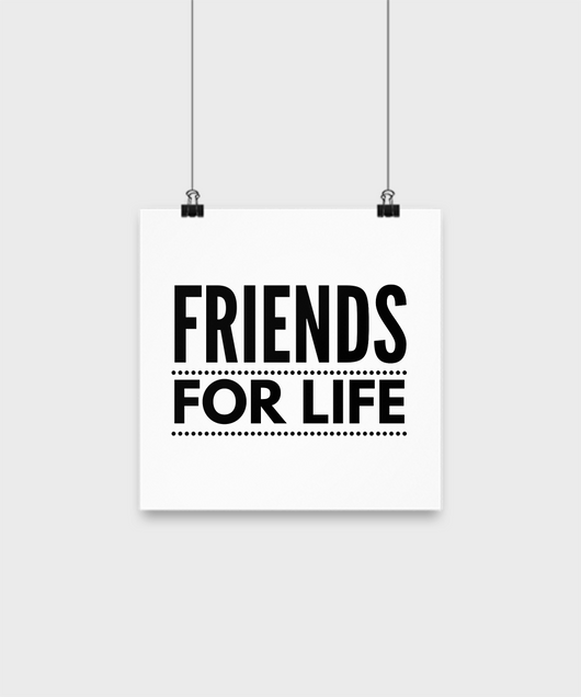 Friends for Life - Wall Poster - Uncle Seal