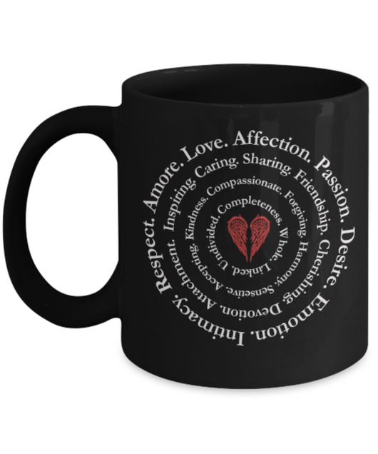 Love creative designed Mug - Red - Uncle Seal