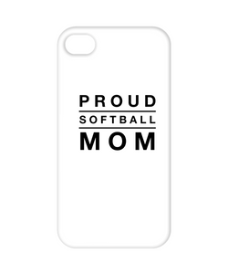 Proud Softball Mom - Iphone 6 Case Cover - Uncle Seal