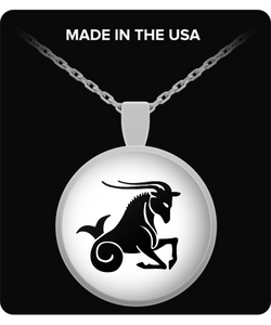 Capricon Zodiac Signs Necklace - Uncle Seal