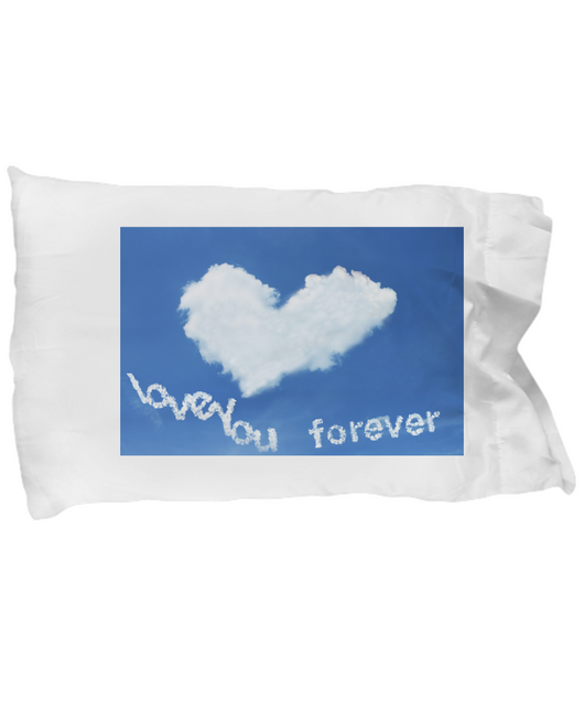 I love you cloud - Pillow Case - Uncle Seal