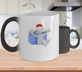 Christmas Present - Coffee Mug Color Changing - Uncle Seal
