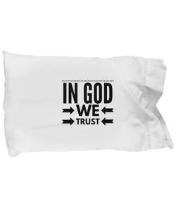 In God we Trust - Pillow Case - Uncle Seal