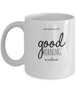 Good Morning Beautiful Coffee Mug - For Her - Great Gift To Open the Day - Uncle Seal