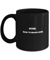 HTML - How to make love funny Coffee Mugs - Uncle Seal