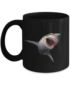 Great White Shark Mug - Morning Coffee with Jaws - Uncle Seal