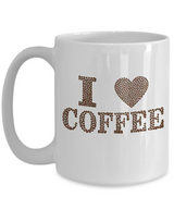 I love Coffee - Mug - Uncle Seal