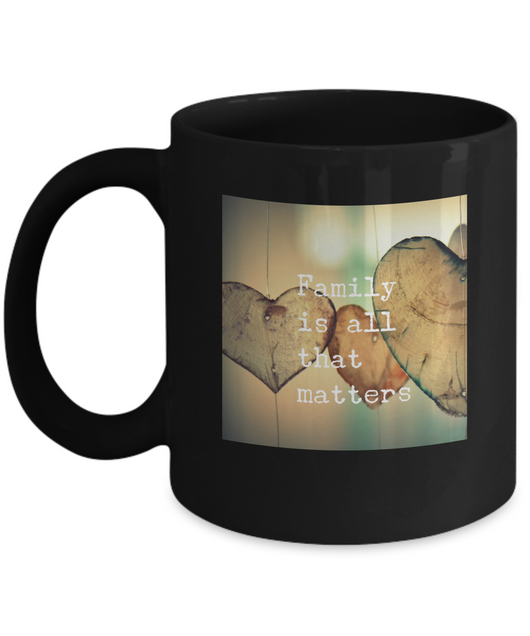 Family is all that matters - Coffee mug - Uncle Seal