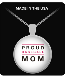 Proud Baseball Mom - Necklace - Uncle Seal