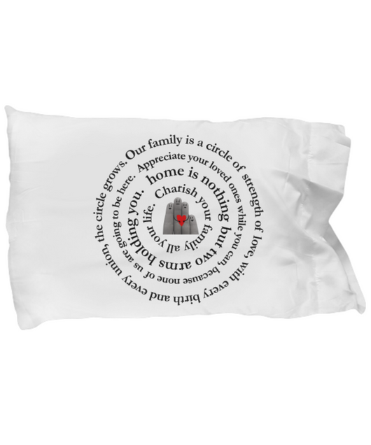Family Love - Pillow Case - Uncle Seal