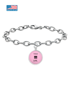 Life is Yoga - Round Bracelet - Uncle Seal