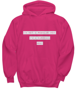 Funny Hoodie - Not a Regular Mom - Basketball Moms - Uncle Seal