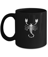 Zodiac Signs Coffee Mug Scorpio - The Scorpion - Uncle Seal