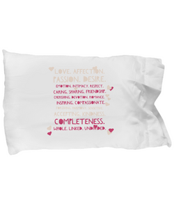 Designed Pillow Case - Love - Uncle Seal