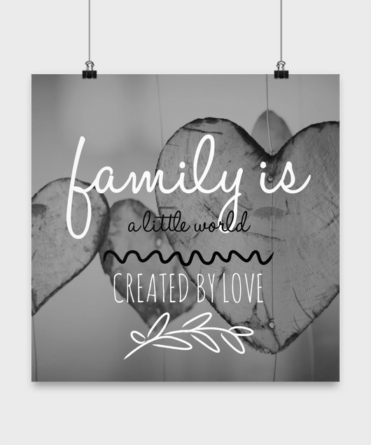 Family love design - Poster - Uncle Seal
