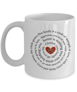 Family Inspiration Art mug Design Heart - Uncle Seal