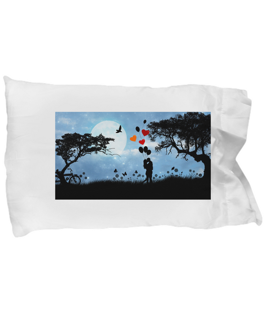 Love is in the air - Pillow Case - Uncle Seal