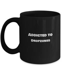 Addicted to Dropzones - Skydiving Mug - Uncle Seal