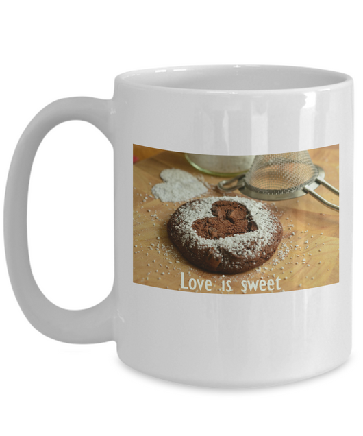 Love is sweet poster Coffee Mug - Uncle Seal