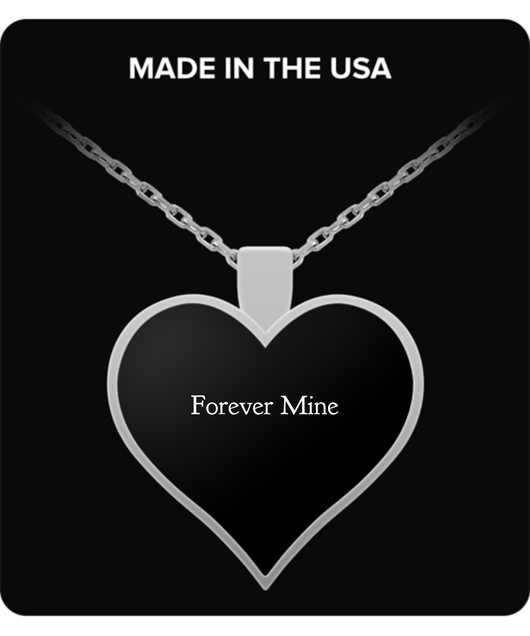 Forever Mine - Heart Shape Necklace - Uncle Seal