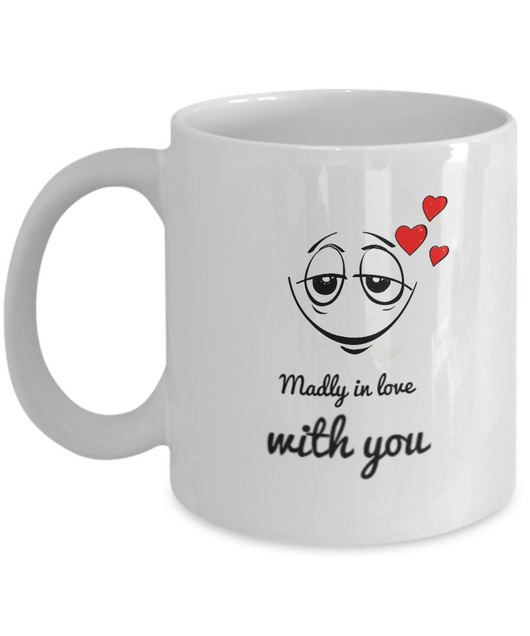 madly in love with you - Love Coffee mug - Uncle Seal