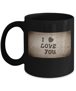 i love you coffee mug campaign - Uncle Seal
