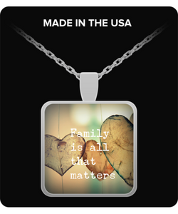 Family is all that matters - Necklace - Uncle Seal
