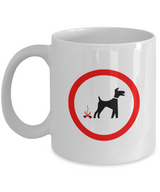 No Poop allowed - Coffee Mug - Uncle Seal