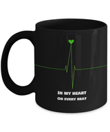 Love gift - Black Coffee Mug - Uncle Seal