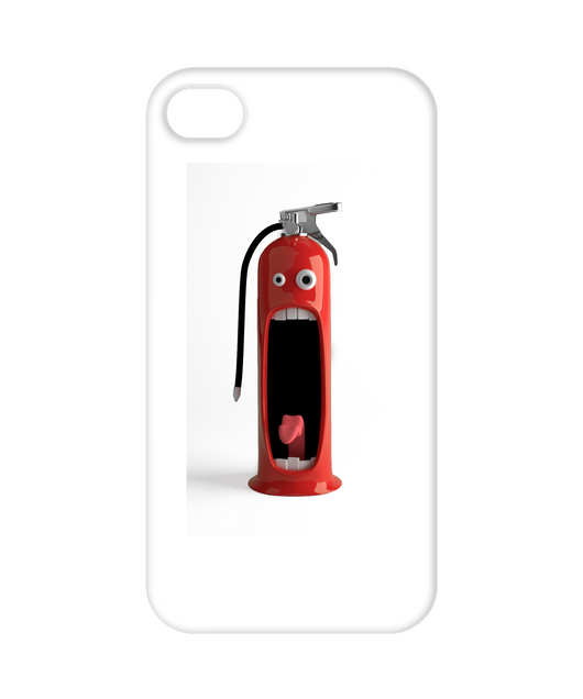 Funny Surprised fire extinguisher - Iphone 6 Cover Case - Uncle Seal
