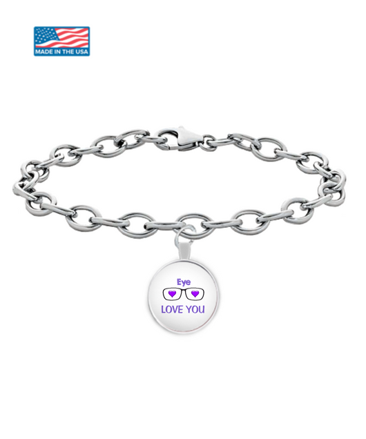 Eye Love you more and more Bracelet - Uncle Seal