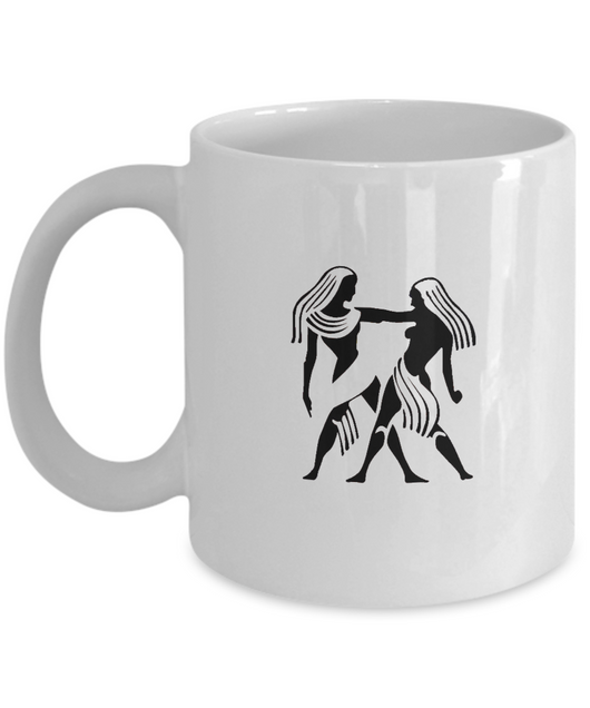 Zodiac Signs Coffee Mug Gemini - The Twins - Uncle Seal