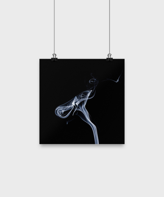 Abstract Smoke - Poster - Uncle Seal
