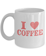 I love Coffee - Mug red - Uncle Seal