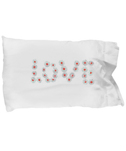 Love flowers Pillow Case - Uncle Seal