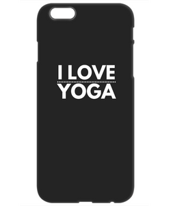 Life is Yoga - Black Iphone 6 Case Cover - Uncle Seal